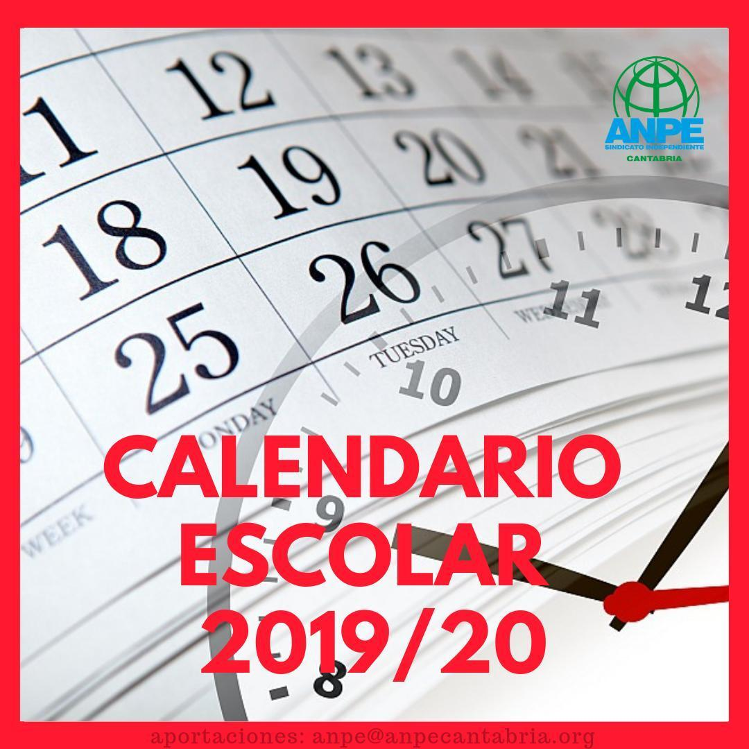 Calendario Escolar Extremadura.Calendario Escolar 2019 2020 Noticia